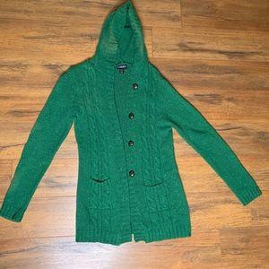 Sweaters - Sakina | Green Cardigan